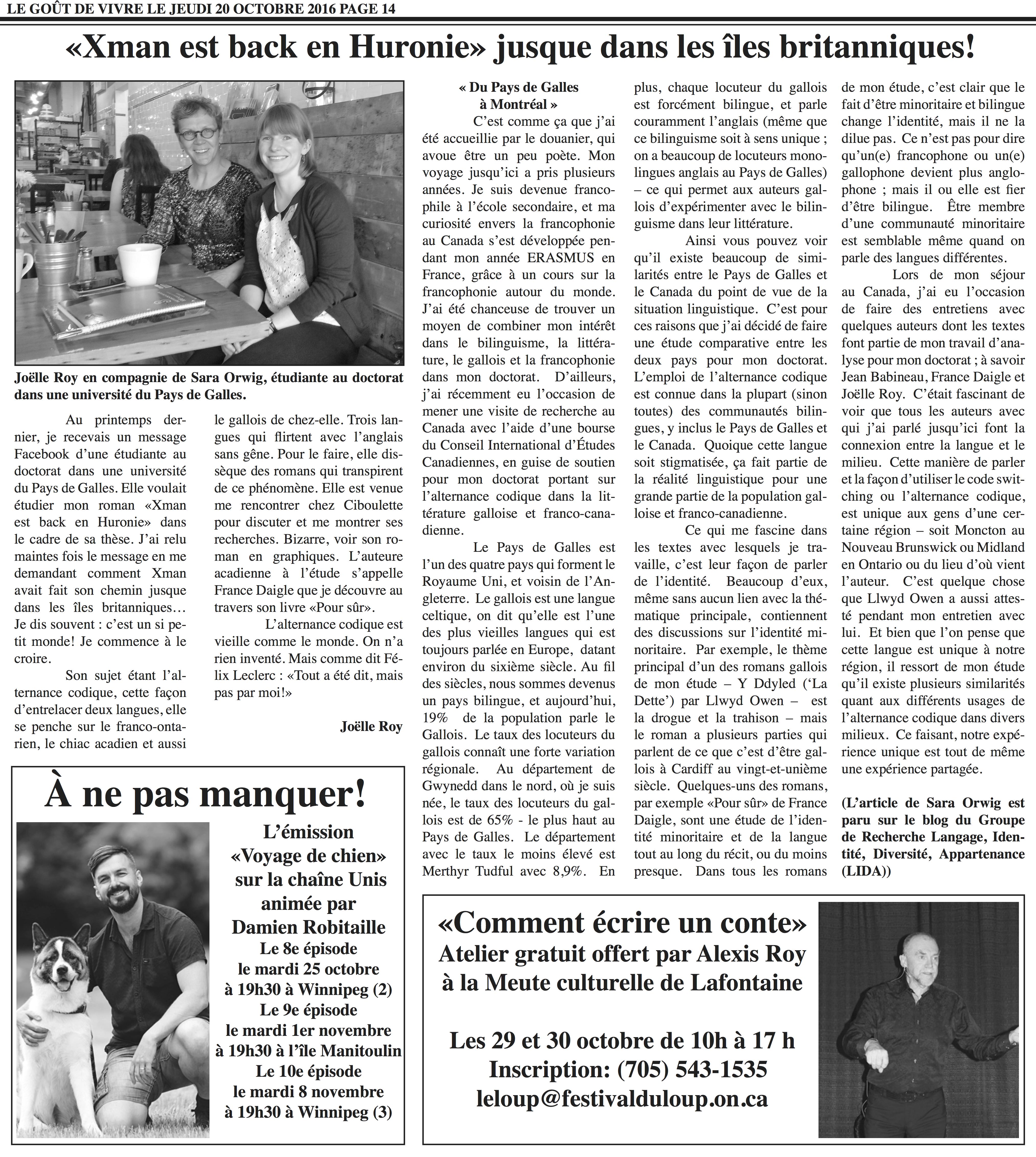 page 14 Le Gout 20 oct. 2016